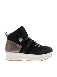 See by Chloé - Black leather Atena sneakers