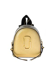 Marc by Marc Jacobs - Mini Pack Shot Backpack in gold and blue