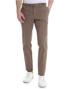 PT01 - Maestro collection Mud color cotton trousers