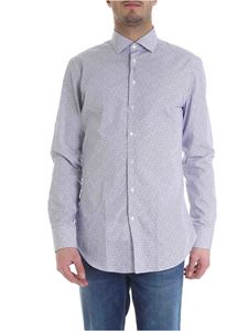Etro - White shirt with paisley pattern