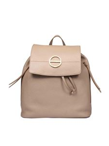 Borbonese - Borbonissima leather medium backpack