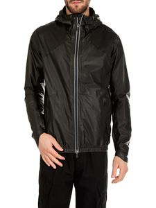 Herno - Black hooded jacket
