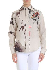 Vivienne Westwood  - Chinese Peony shirt in light gray