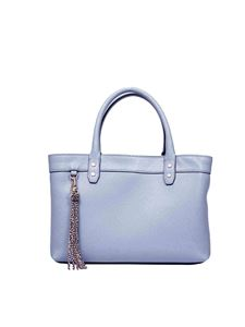 Borbonese - Small handbag in dust colour OP leather