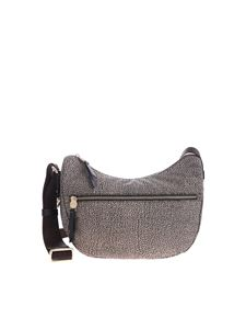 Borbonese - Brown small Luna cross-body bag