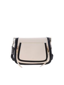 Elisabetta Franchi - Cream cross-body bag