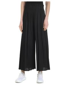 PLEATS PLEASE Issey Miyake - Black palazzo trousers with pleated effect