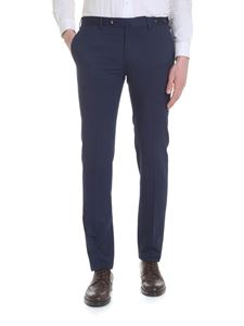 PT01 - Trousers in wool and cotton blend