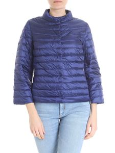 ADD - Reversible dark blue down jacket
