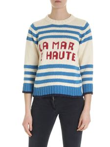 Mother - La Mar E Haute ecru pullover