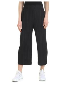 PLEATS PLEASE Issey Miyake - Cropped trousers with pleated effect