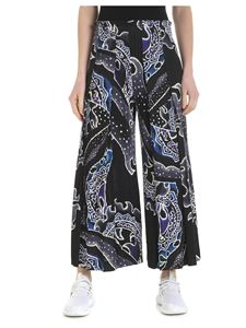 PLEATS PLEASE Issey Miyake - Black pleated palazzo trousers