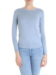 Max Mara Weekend - Crew-neck pullover in light blue