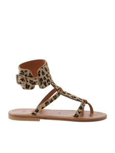 K. Jacques - Animalier Caravelle sandals