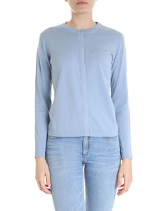 Max Mara Weekend - Silk and cotton cardigan in light blue