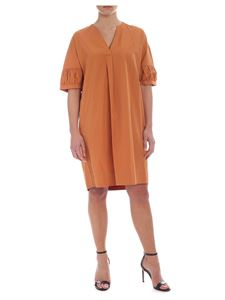 Barba - Barba dress in orange cotton