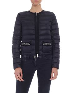 Moncler - Cristalline down jacket in black