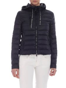 Moncler - Seoul hooded down jacket in black