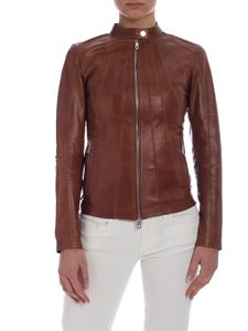 Desa 1972 - Brown leather jacket