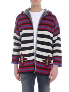 Alanui - Cardigan Navajo Stripes multicolor