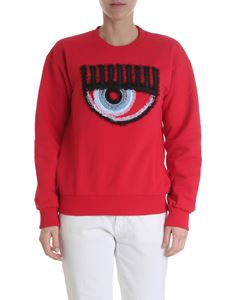 Chiara Ferragni - Red Eye crewneck sweatshirt