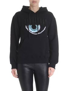 Chiara Ferragni - Black hooded sweatshirt