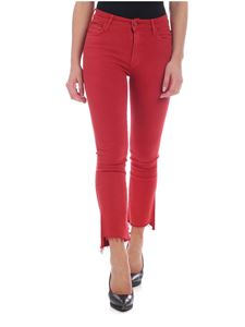 Mother - Red Step Fray jeans