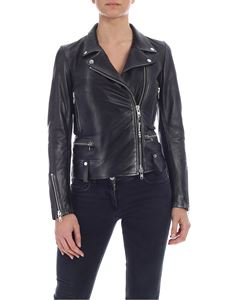 S.W.O.R.D. - Black and silver biker jacket