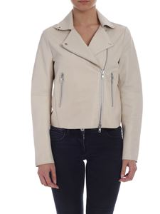 S.W.O.R.D. - Ice-white biker jacket