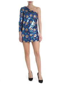 Giuseppe di Morabito - Blue floral dress with sequins