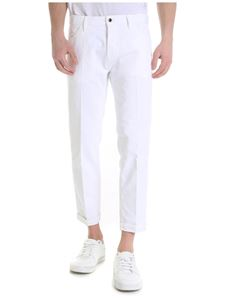 PT05 - White Reggae jeans with side bands