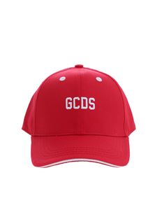 GCDS - GCDS baseball cap in red