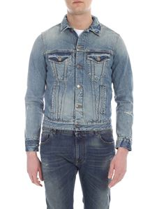 Alanui - Giubbino in denim Landscape Knit
