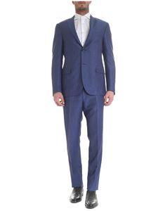 Corneliani - Two-button blue Corneliani dress