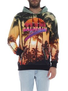 Balmain - Balmain Beach Club multicolor hoodie