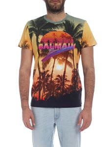Balmain - Crew-neck t-shirt Beach Club print