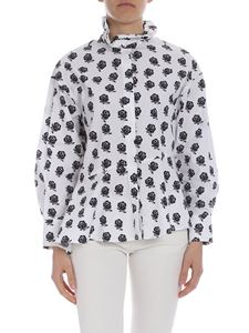 Kenzo - White Kenzo shirt with rose print