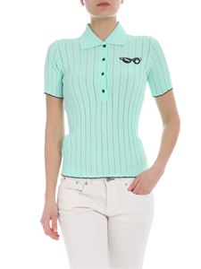 Pinko Uniqueness - Green Bongi polo shirt