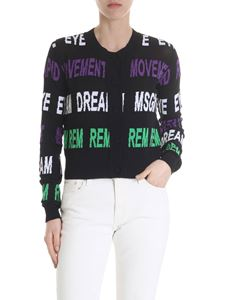 MSGM - Movement Dream Msgm cardigan in black