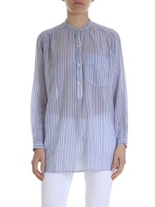 Isabel Marant Étoile - Jada blouse in blue and white