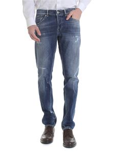 Dondup - George jeans in blue destroyed