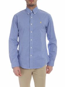 Ralph Lauren - White and blue checked shirt