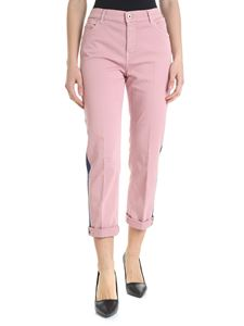 Dondup - Paige pink trousers