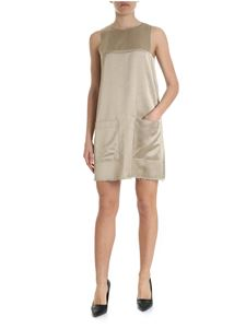 Dondup - Dondup sleeveless dress in champagne color