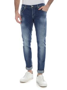 Dondup - Ritchie blue destroyed jeans
