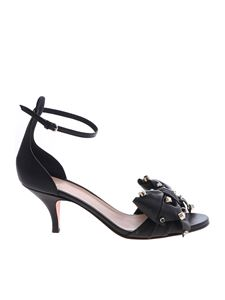 Red Valentino - Flow Bow black sandals