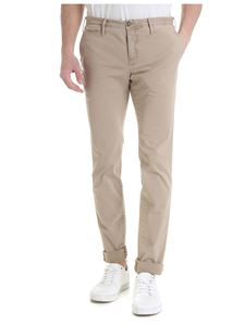 PT01 - Times trousers in vintage effect beige