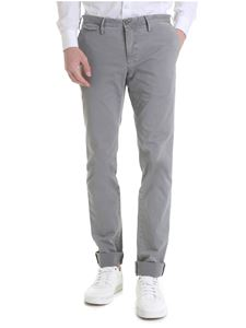 PT01 - Times vintage effect trousers in gray