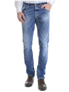 Dondup - Ritchie destroyed jeans in blue