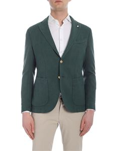 L.B.M. 1911 - Slim jacket in green forest color